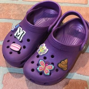 Kids Crocs sandals Purple Size 11